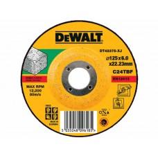 DEWALT DT42375 სახეხი დისკი 125 X 6,0 X 22.2 მმ (ბეტონი/ქვა/აგური)