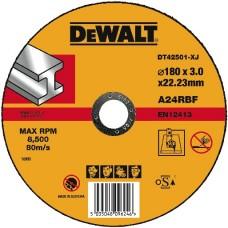 DEWALT DT42501 საჭრელი დისკი 180 X 3.0 X 22.2 მმ (მეტალი)