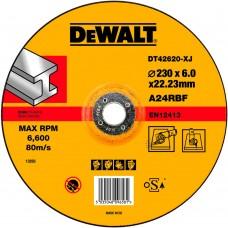 DEWALT DT42620 სახეხი დისკი 230 X 6,0 X 22.2 მმ (მეტალი)