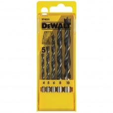 DEWALT DT4535 ბურღის პირების ნაკრები ხისათვის  (5 ც)