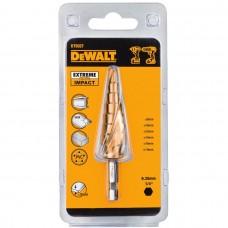 DEWALT DT5027 ბურღის პირი ლითონზე (საფეხურიანი) EXTREME IMPACT 6 - 18 მმ