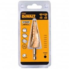 DEWALT DT5030 ბურღის პირი ლითონზე (საფეხურიანი) EXTREME IMPACT 8 - 25 მმ